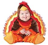 Lil' Gobbler Infant/Toddler Costume Brown/Orange