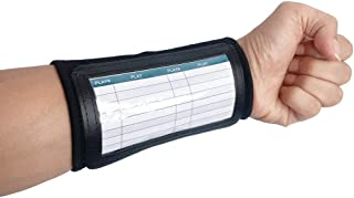 CHLPRO Wrist Coach - Youth Triple Wrist Coach Playbook Wristband(Youth) - Perfect for Flag Football and Tackle Football