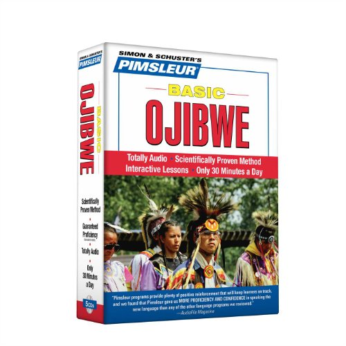 Compare Textbook Prices for Pimsleur Ojibwe Basic Course - Level 1 Lessons 1-10 CD: Learn to Speak and Understand Ojibwe with Pimsleur Language Programs 1 10 Lessons Edition ISBN 9780743561525 by Pimsleur