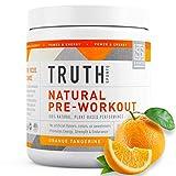 All Natural PreWorkout Powder- Plant Based, Keto & Vegan Friendly Pre Workout - Energy, Focus &...
