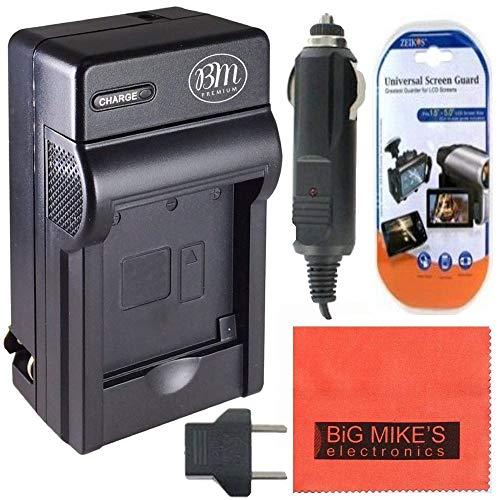 DMWBCG10 Battery Charger Panasonic Lumix DMC-ZS20 Digital Camera + More!!