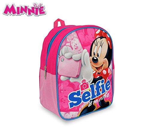 MN16500 Zaino Scuola Asilo e Tempo Libero Minnie Mouse 24x20x9 cm. Media Wave Store
