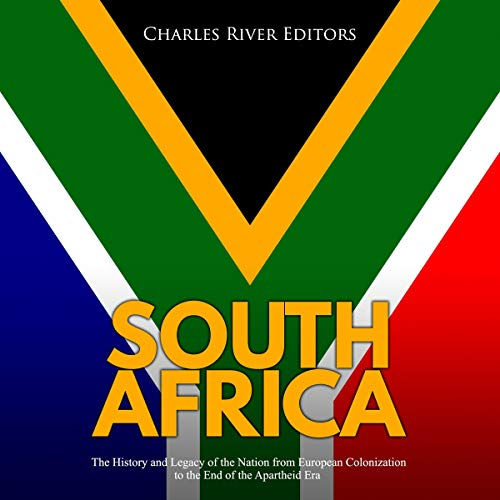 South Africa audiobook cover art