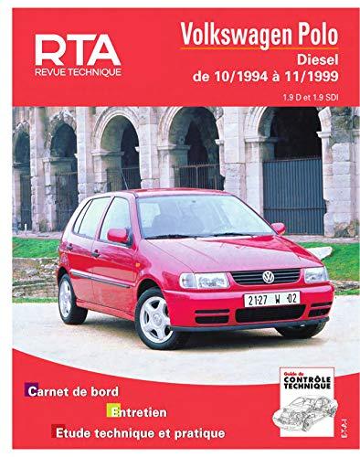 E.T.A.I - Revue Technique Automobile 611 - VOLKSWAGEN POLO III - 6N - 1994 à 1999