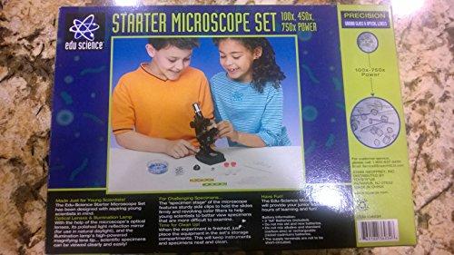 Edu Science Microscope Set 100x, 450x, 750x