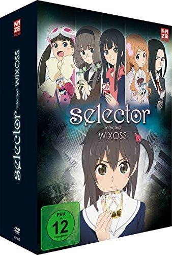 Selector Infected Wixoss - Staffel 1 - Vol.1 - [DVD] mit Sammelschuber