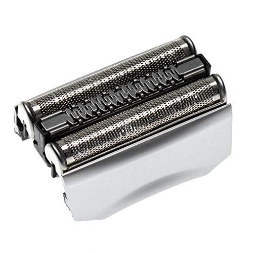 vhbw 1x Scherkopf passend für Braun Series 7 720, 730, 740, 760cc, 7840, 7850, 7865, 7880, 7893, 790cc, 795cc Rasierer, Silber