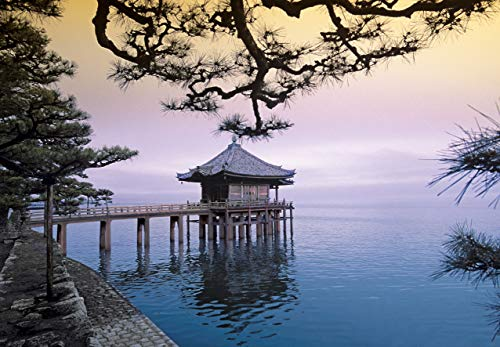 Fotobehang Tempel Japan - 366 x 254 cm Slaapkamer