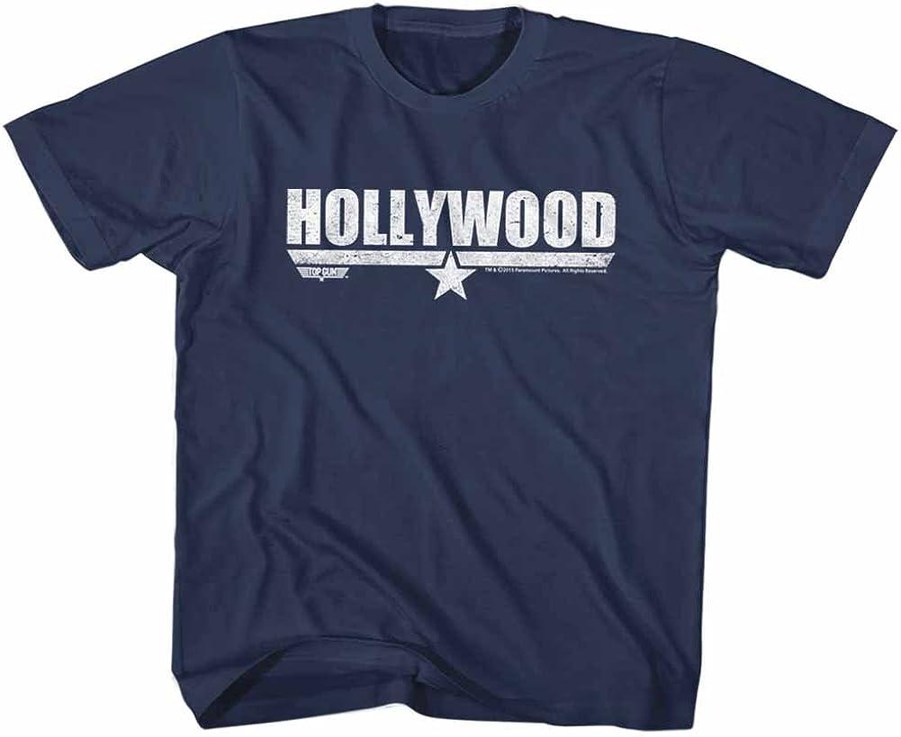 Top Gun Movie Action Drama Hollywood Navy Big Boys Youth T-Shirt Tee