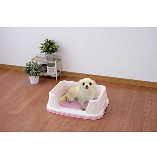 アイリスオーヤマトレーニング犬トイレレギュラーミルキーピンクTRT-500