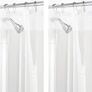 Mold Mildew Resistant Heavy Duty PEVA Shower Curtain Liner For Bathroom And Tub