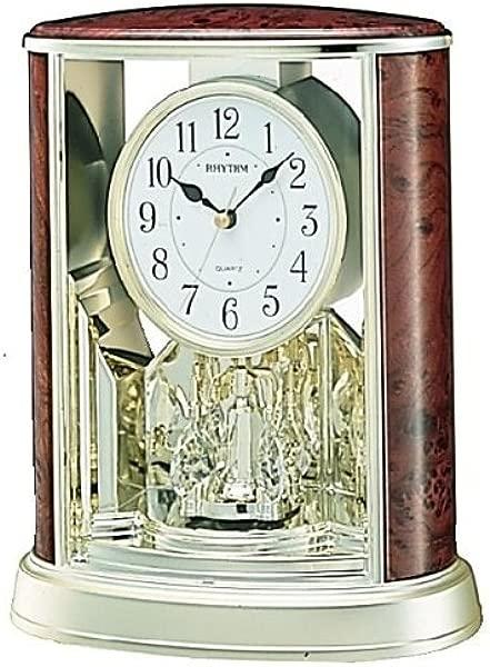 Rhythm Clocks Woodgrain Teardrop Model 4SG724US06