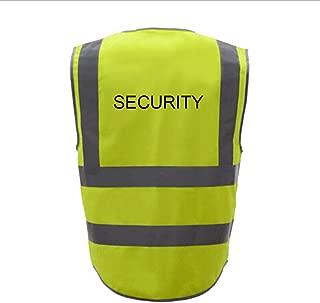 GOGO Security 9 Pockets Hi Vis Safety Vest-Yellow-XL
