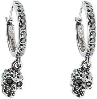 Luxury Fashion | Alexander Mcqueen Womens 550503J160Y1177 Black Earrings | Fall Winter 19