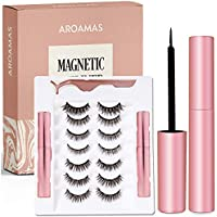 Aroamas Magnetic Eyeliner and 7-Pair Silk Eyelash Kit