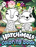 Hatchimal Coloring Book: Awesome Hatchimal Adult Coloring Books For Women And Men Relaxation And Stress Relief