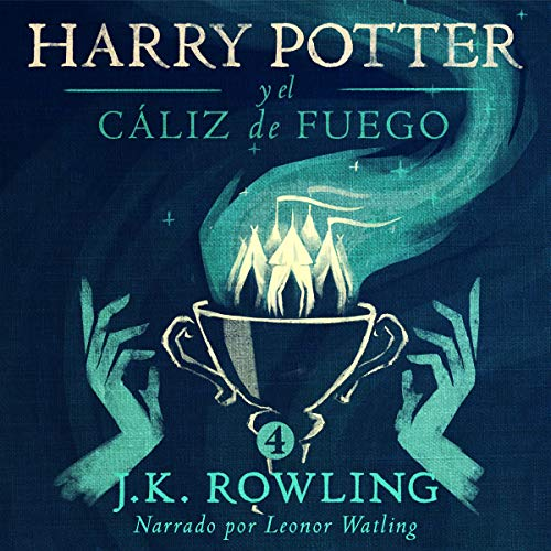 Harry Potter y el cáliz de fuego cover art