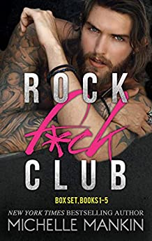 ROCK F*CK CLUB BOX SET BOOKS 1-5 by [Michelle Mankin]