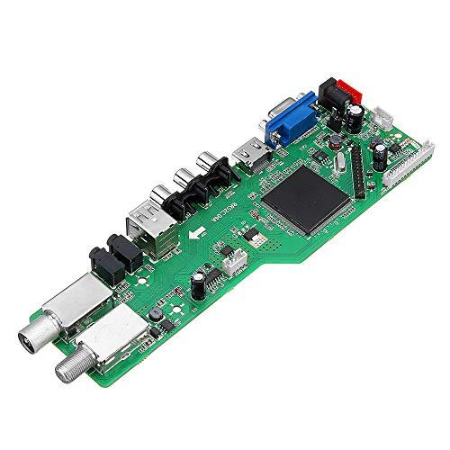 Módulo inteligente 5 OSD Juego RR52C.04A Soporte Digital Señal DVB-S2 DVB-C DVB-T2/T ATV LCD Driver Board Module
