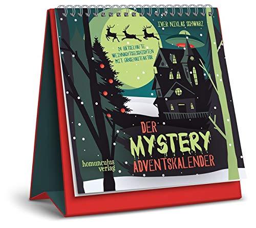 Der Mystery-Adventskalender: 24 rätselhafte Weihnachtsgeschichten mit Gänsehautfaktor