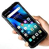 Telephone Incassable OUKITEL WP8 Pro Smartphone Pas Cher Telephone Portable Debloqué 4G(Android 10,4Go+64Go Octa-Core, Selfie AI 8MP et Triple caméra 16MP, 5000mAh,6.49') Antichoc Étanche