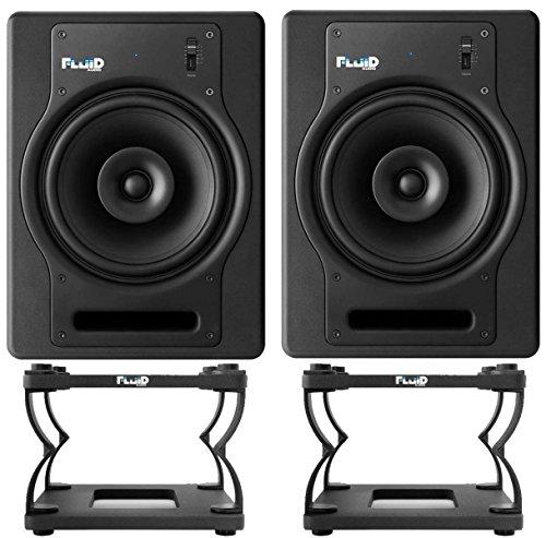 Fluid Audio FX8 Monitorboxen + DS8 statieven