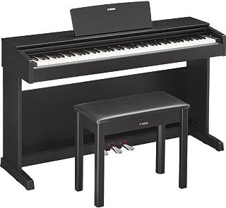 YAMAHA 雅马哈 ARIUS系列YDP-143B电钢琴88键数码钢琴(含配套琴架 三踏板及琴凳) 黑胡桃木色