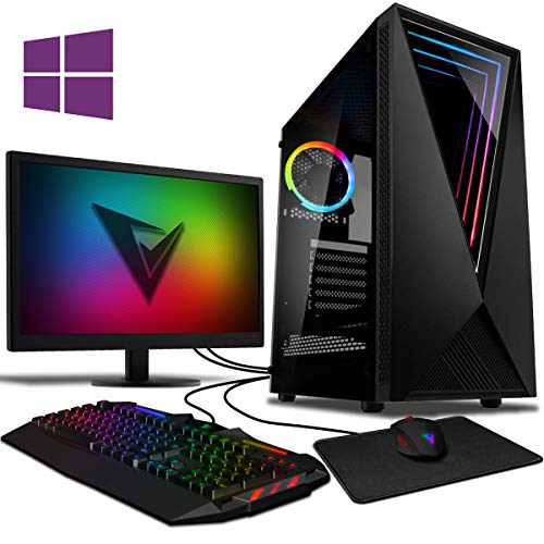 Vibox DX- 32 Gaming PC Computer with 2 Free Games, Windows 10 Pro OS, 22