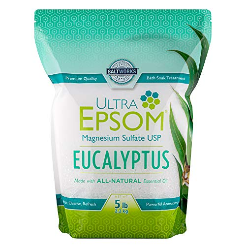 SaltWorks Ultra Epsom Scented Bath Salt