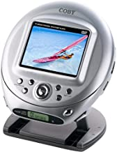 Coby TF-DVD500 Ultra-Portable DVD Player with 3.5-Inch LCD