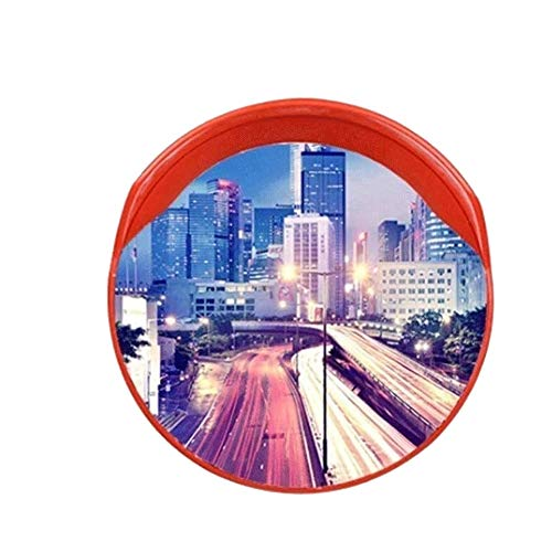 LYP Espejo de Tráfico El tráfico Exterior Gran Angular, al Aire Libre Seguridad del Tráfico en Carretera Espejo Garaje panorámica de Punto Ciego Gran Angular de ángulo Muerto Espejos (Size : 60cm)