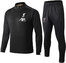 WigColtd Sportbekleidung Langärmeliger Fußballtrainingsanzug Für Erwachsene Sportanzug Trikot @ 1_XL