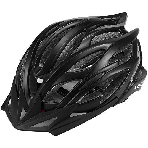 Lixada Adult Bike Helmets 25 Vents Ultralight Integrally-Molded EPS Outdoor Sports MTB/Road Cycling Mountain Bike Bicycle Adjustable Skating Helmet
