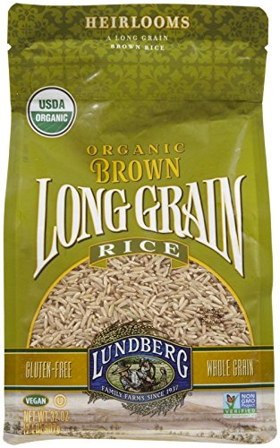 Lundberg Organic Long Grain Brown Rice  32 oz