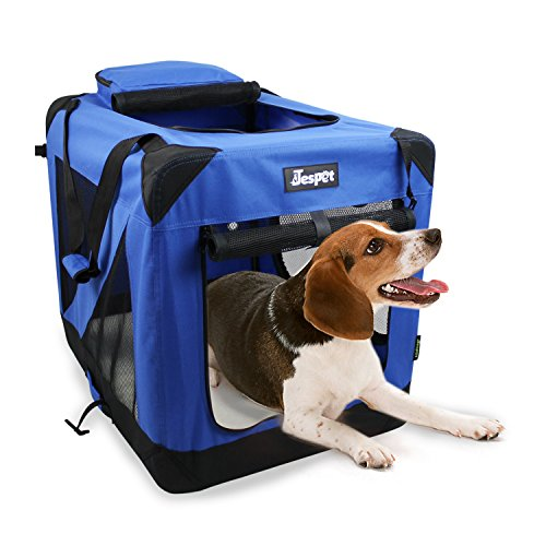 JESPET 30' Deluxe Blue Indoor/Outdoor Soft Dog...