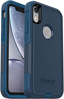 OtterBox Commuter Series Case for iPhone XR - Retail Packaging - Bespoke Way (Blazer Blue/Stormy SEAS Blue)