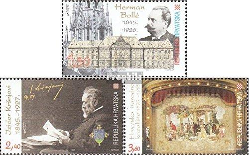 Chorwacja 338-340 (pe?ne.Kwestia.) 1995 Kultura (Znaczki dla kolekcjonerów)