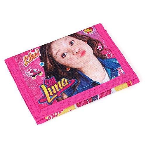 S A F T A - SOY LUNA, Portefeuille Multicolore Pink-türkis 12;2 x 9 x 1,5 CM
