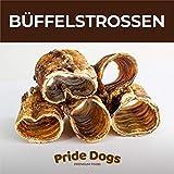 Büffelstrossen kurz 1000g der Premium Kausnack für Ihren Hund   100% Deutsche Herstellung   im geruchsneutralen Beutel   Kauartikel von PrideDogs