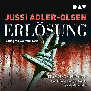 Erlösung     Carl Mørck 3              Autor:                                                                                                                                 Jussi Adler-Olsen                               Sprecher:                                                                                                                                 Wolfram Koch                      Spieldauer: 8 Std. und 21 Min.     2.539 Bewertungen     Gesamt 4,6