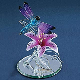 Best glass lily flower Reviews