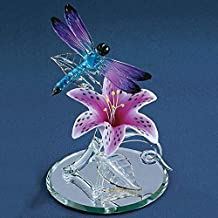 Glass Baron, Dragonfly with Lily