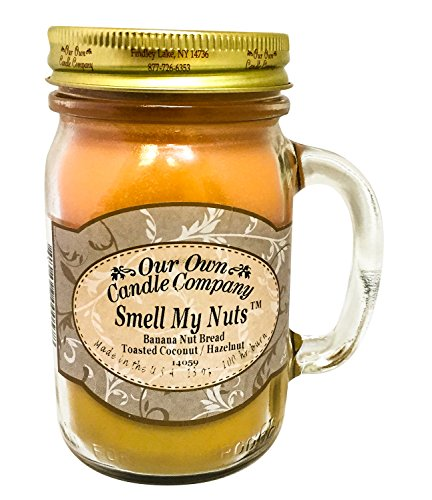 Our Own Candle Company Smell My Nuts Scented 13 oz...
