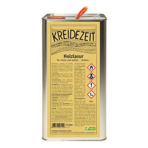 Kreidezeit Holzlasur-farblos-5,00 l