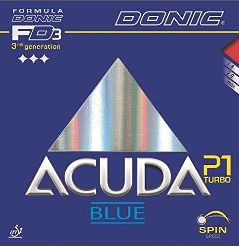 Donic goma Acuda Azul P1Turbo, 2mm, rojo