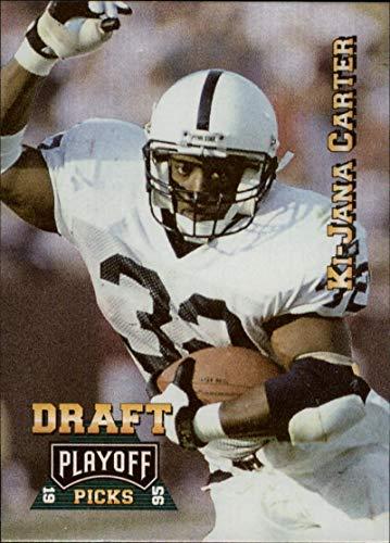 Football NFL 1995 Playoff Prime #181 Ki-Jana Carter #181 NM RC Rookie Bengals