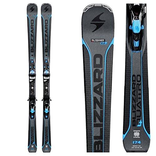 Blizzard Quattro 8.0 CA Ski System with Bindings Mens
