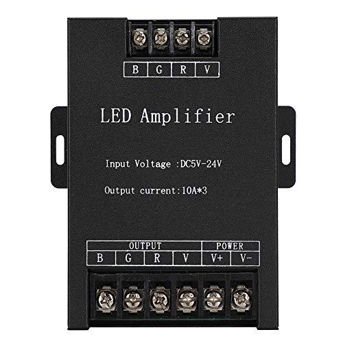 RGB LED Amplificador Señal Repetidor Controlador Tira Luz Accesorios Iluminación para LED Control Tira Luz DC5-24V