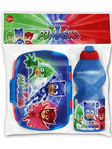 PJ Máscaras 701976–: Fiambrera + Botella