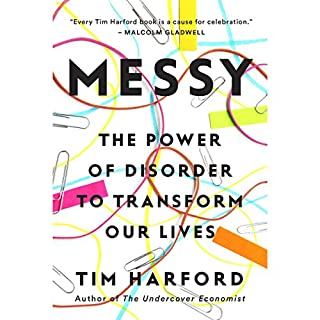 Messy audiobook cover art